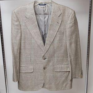 Burberry's Vintage Suit Top Blazer Size